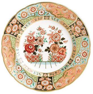 Royal Crown Derby Regency Flowers Salad Plate