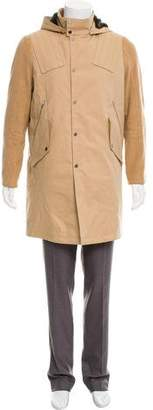 Tim Coppens Hooded Zip-Up Jacket