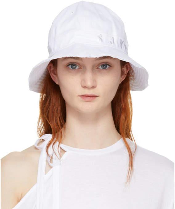 White Denim Cutting-edge Hat