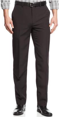 Alfani Flat-Front Slim-fit Herringbone Wrinkle-Resistant Pants, Created for Macy's