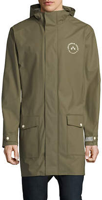 Scotch & Soda Amsterdam Long-Sleeve Raincoat