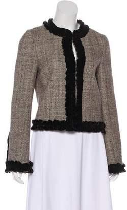 Tory Burch Wool Textured Jacket