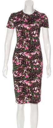 Givenchy Floral Digital Print Dress