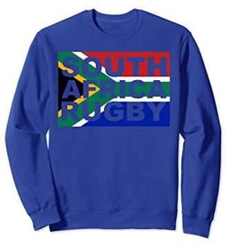 South Africa Flag Rugby Lover Fan Sweatshirt