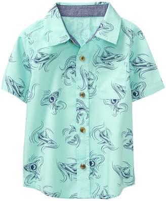 Crazy 8 Crazy8 Toddler Shark Print Shirt
