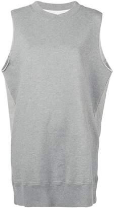 MM6 MAISON MARGIELA oversized sweatshirt-vest