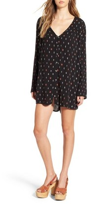 Billabong 'Moongazer' Print Woven Dress $54.95 thestylecure.com