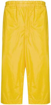Comme des Garcons Boys side panel cropped trousers
