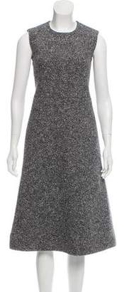 Celine Tweed Midi Dress w/ Tags