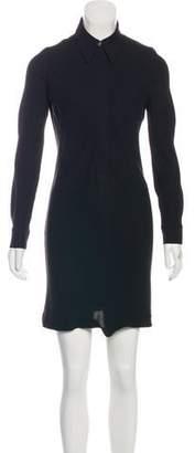 Hermes Silk Knee-Length Dress