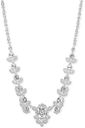 """Givenchy 16"""" Multi-Crystal Ornate Collar Necklace"""