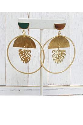 Fabulina Designs Caribbean Queen Earrings
