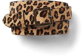 Gap Haircalf leopard belt
