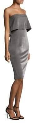 LIKELY Driggs Strapless Velvet Sheath Dress