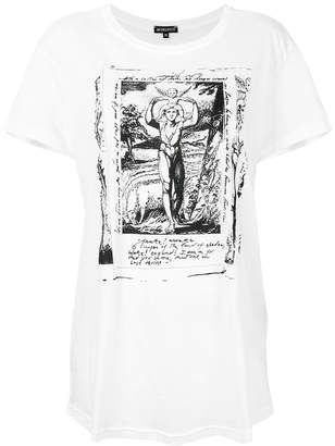 Ann Demeulemeester re-edition Awake print T-shirt