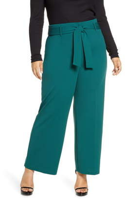 Leith High Waist Belted Pants