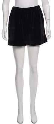 Prism Velvet Mini Shorts w/ Tags