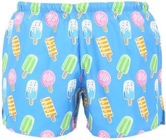 Ice Cream Print Nylon Swim Shorts