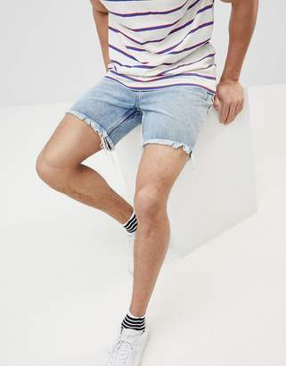 Cheap Monday Sonic Slim Cut Off Shorts