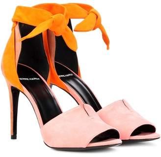 Pierre Hardy Secret suede sandals