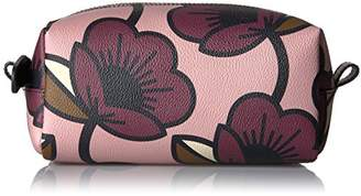 Orla Kiely Passion Flower Print Textured Vinyl Cosmetic Bag