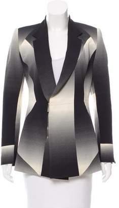 Josh Goot Printed Zip-Up Blazer