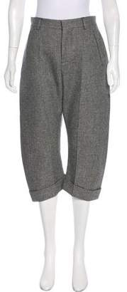 DSQUARED2 Wool Cropped Pants