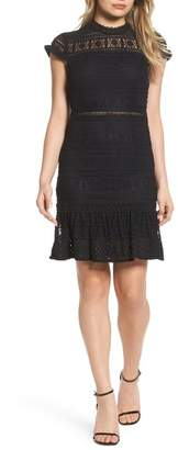 Foxiedox Ellie Fit & Flare Lace Dress