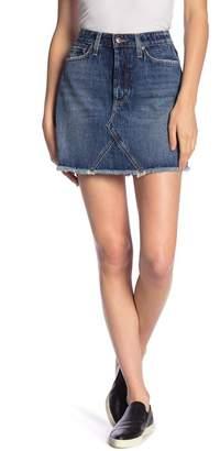 Joe's Jeans Bella Frayed Hem Skirt