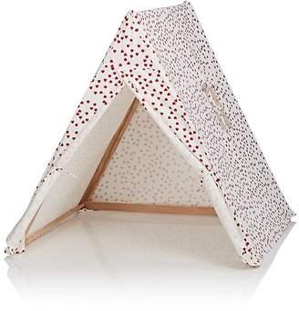 DEUZ Heart-Print Organic Cotton Tent