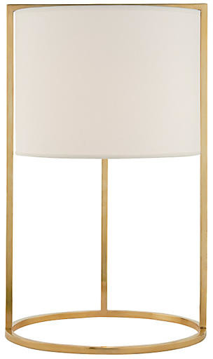 Framework Desk Lamp - Soft Brass - Visual Comfort & Co.
