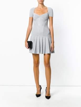 Alexander McQueen knit mini dress