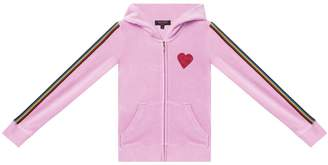 Juicy Couture Velour Rainbow Love Robertson Jacket for Girls