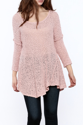 POL Solid Net Sweater $49.99 thestylecure.com