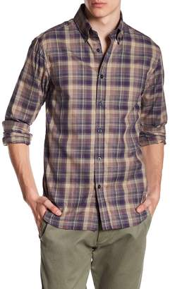 James Tattersall Plaid Classic Fit Woven Shirt