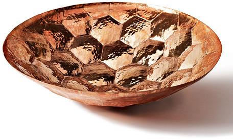 Tom Dixon Eclectic by Hex Bowl Copper Medium