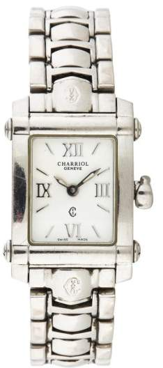 Charriol Charriol Columbus Stainless Steel 18mm Womens Watch