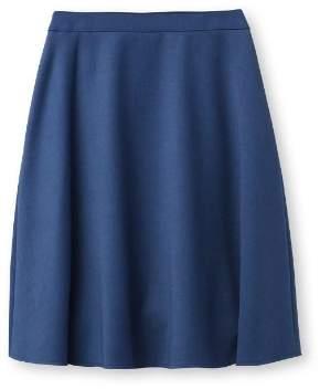 INDIVI (インディヴィ) - インディヴィ [S][マシンウォッシュ]ストレッチ台形スカート