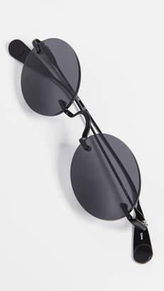 Leone Lyndon Havana Sunglasses