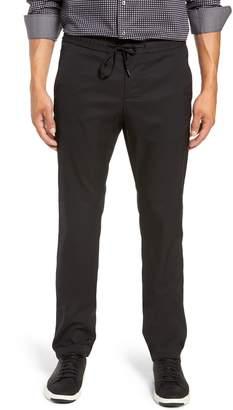 Bugatchi Drawstring Flat Front Pants