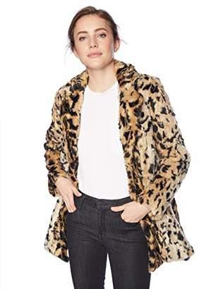 Velvet by Graham & Spencer Women's Juliana Animal lux Fur Jacket