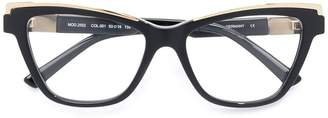 Cazal cat eye glasses