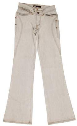 Andrew Mackenzie Mid-Rise Wide-Leg Jeans