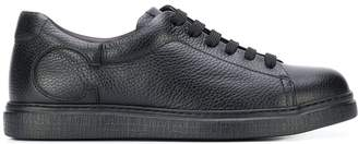 Canali flat lace-up trainers