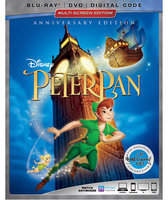 Disney Peter Pan Blu-ray Combo Pack Multi-Screen Edition with FREE Lithograph Set Offer - Pre-Order
