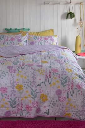Next Pastel Floral Throw - Yellow