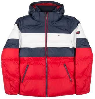 Tommy Hilfiger Rugby Stripe Puff Jacket
