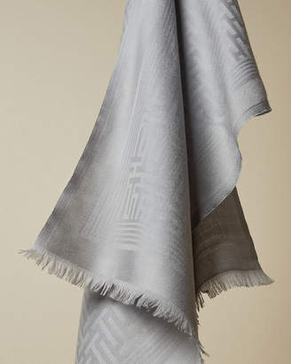 Ted Baker TABAY Long plain knitted wool scarf