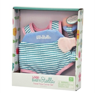 Baby Stella WEE BABY STELLA TRAVEL TIME CARRIER SET