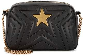 Stella McCartney Stella Star Mini Black Shoulder Bag
